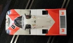 La Porsche de l'USRC