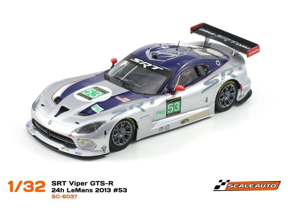 Scaleauto SRT VIPER GTS-R #53 SC6037 1/32