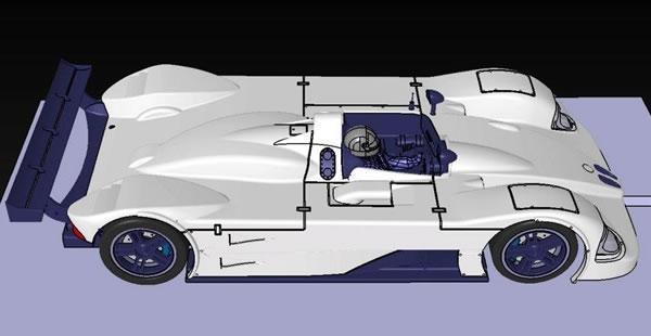 Arrow Slot -BMW V12 LMR3