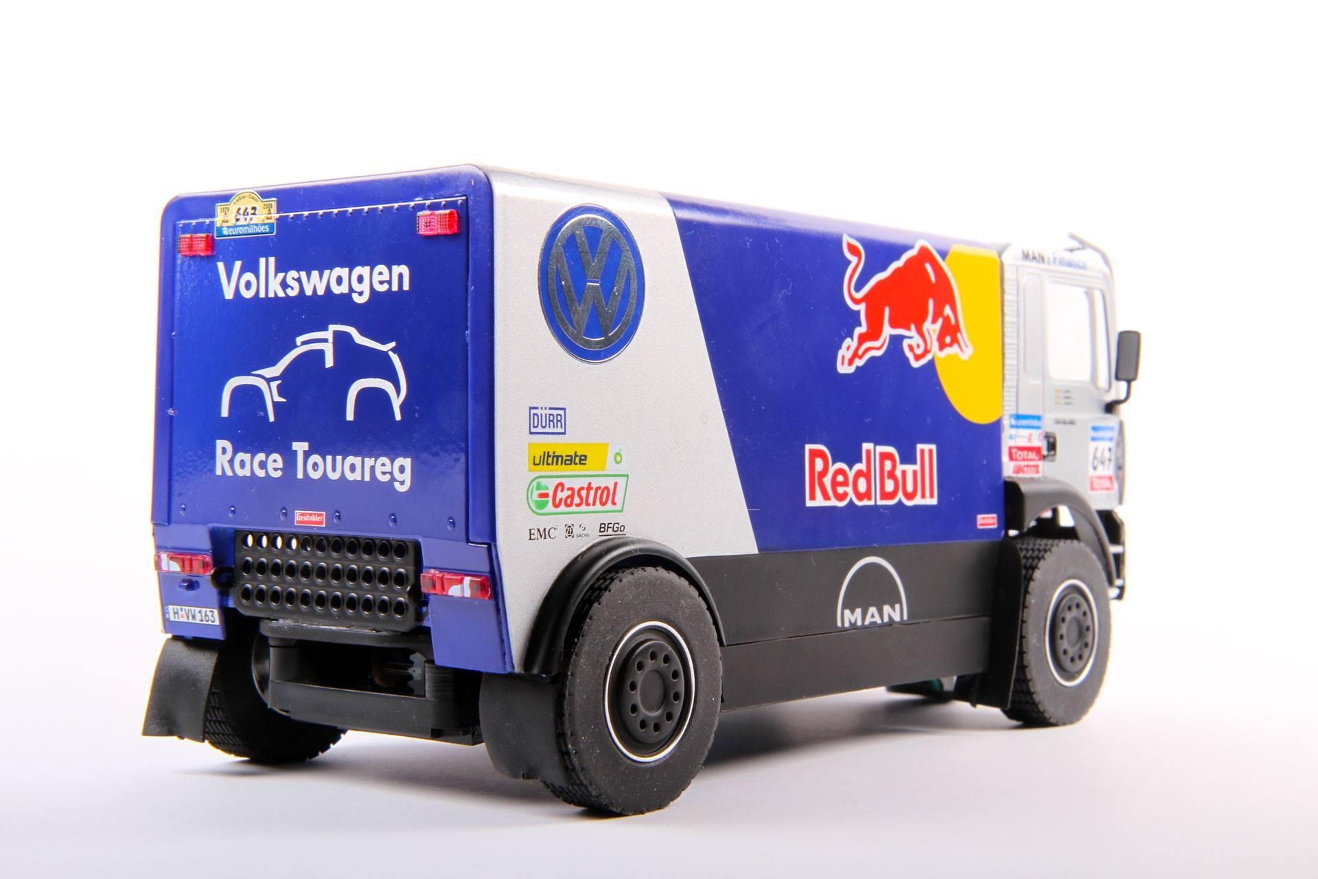 Avant Slot: Le Camion Man TGA 4x4 Red Bull