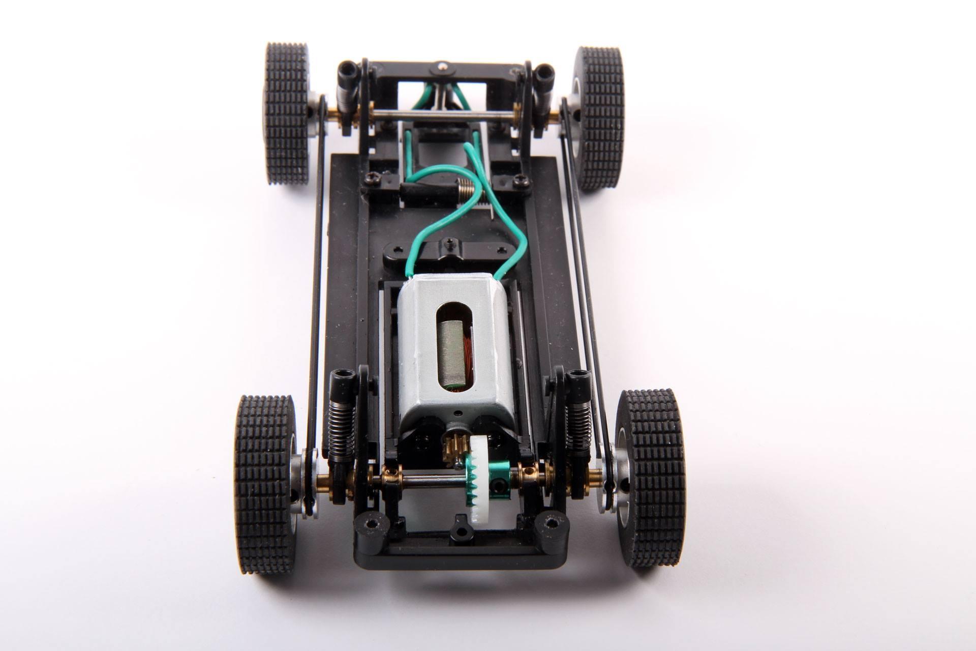 Avant Slot: chassis des camions Rallye Raid