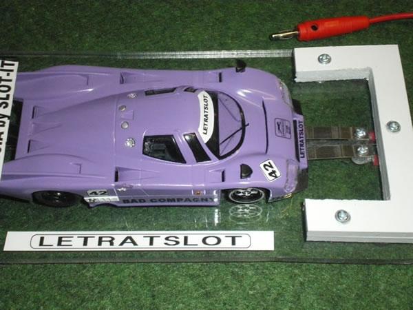 Lancia slot it sur le banc de rodage LetratSlot