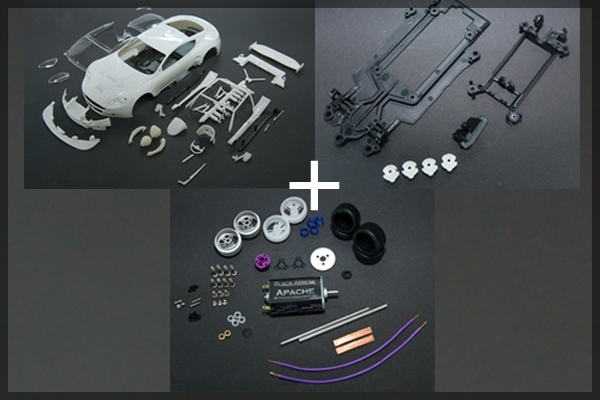 AM DBR9 kit Chassis - carrosserie et Mecanique