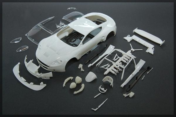 BABC01A le kit carrosserie blanc