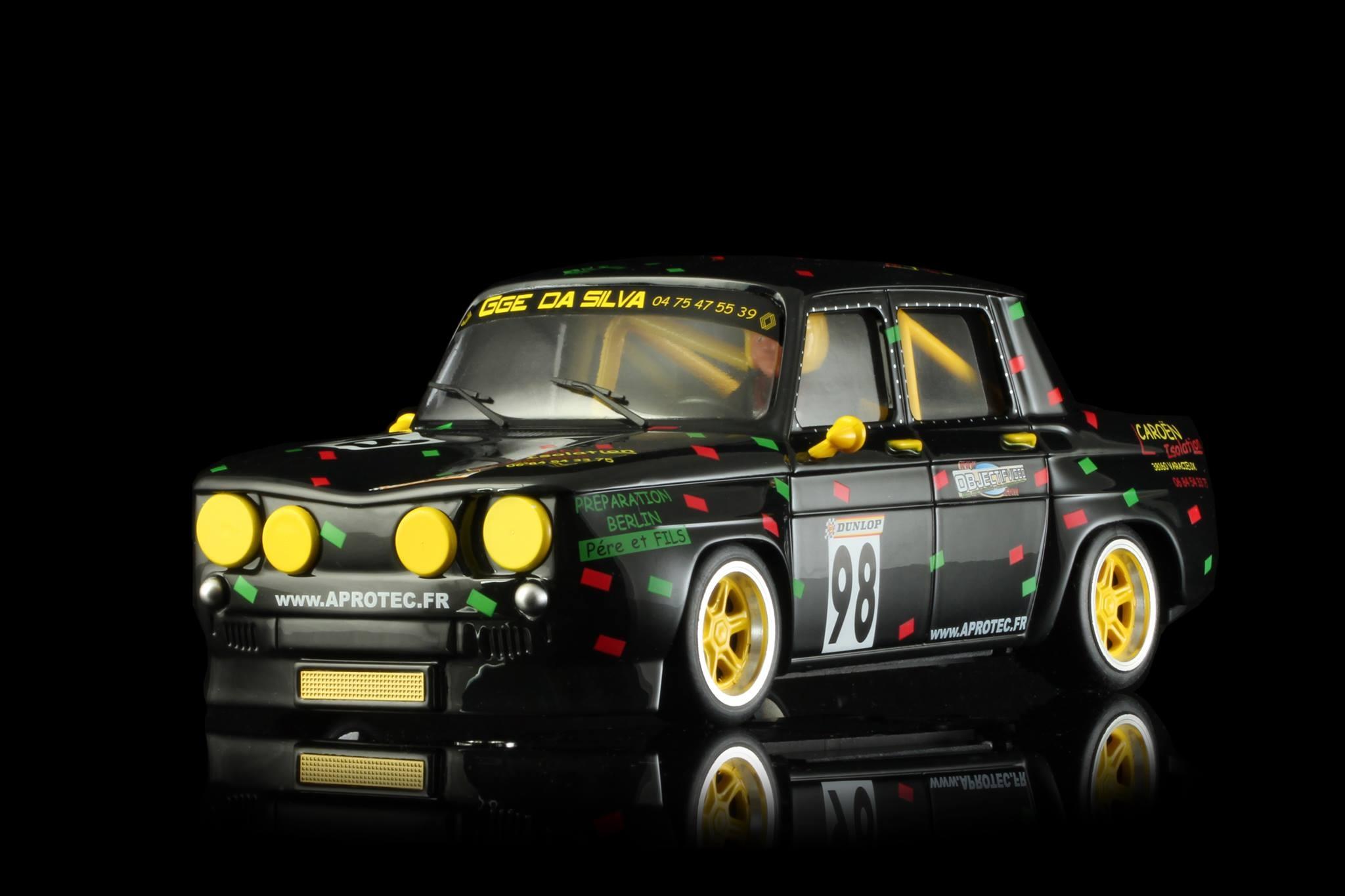 Renault R8 GORDINI Rally Legend # 98
