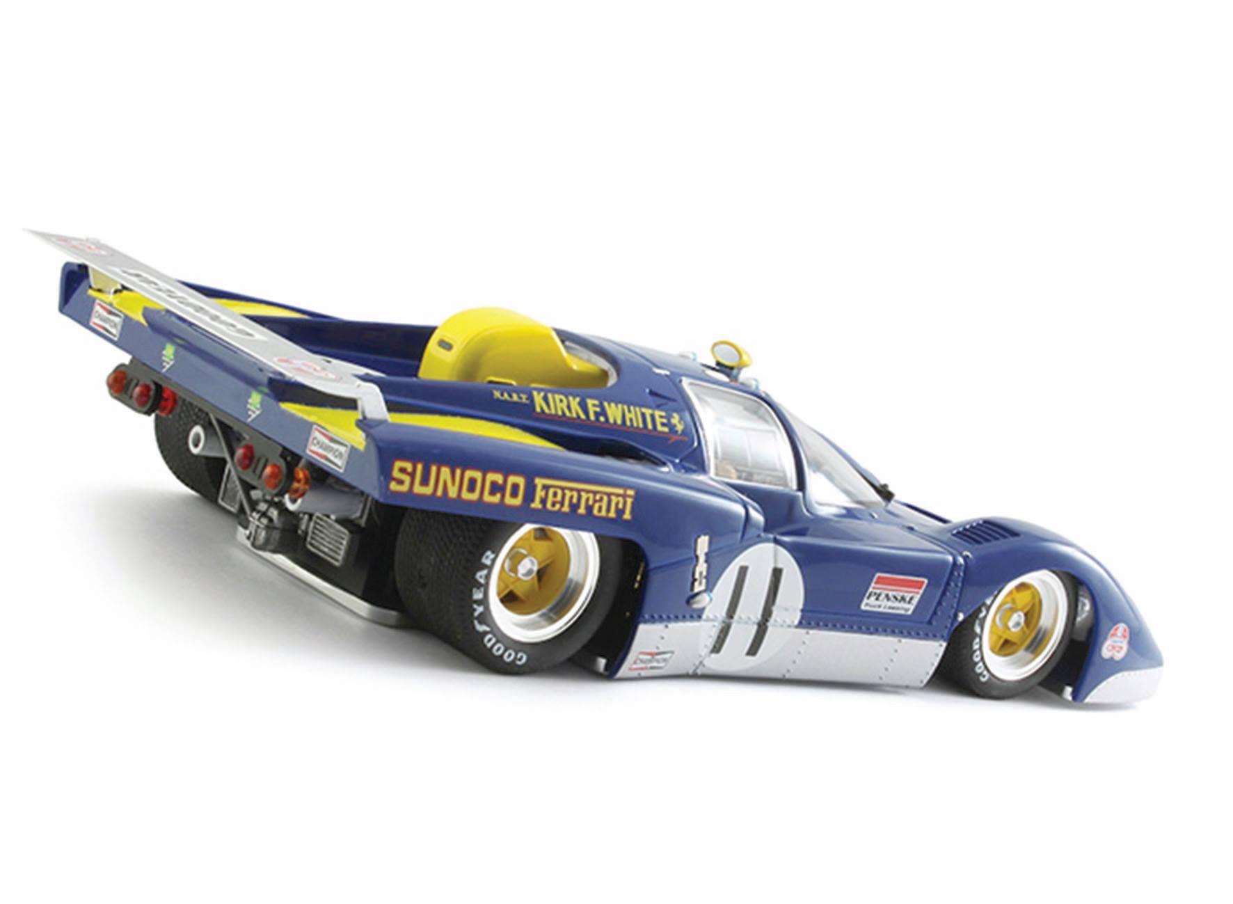 BRM: La Ferrari 512M échelle 1/24 est dévoilée
