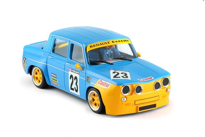 BRM: La R8 Gordini echelle 1/24 numéro 23