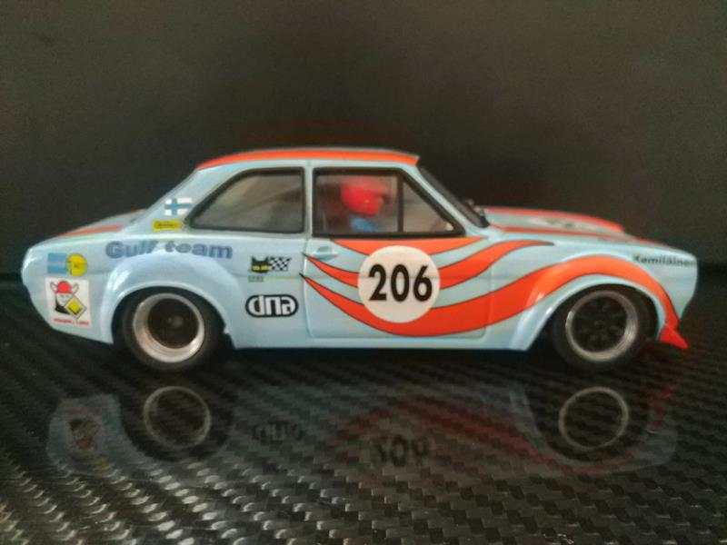 TTS 017Ford Escort Mk1 Gulf Team #206