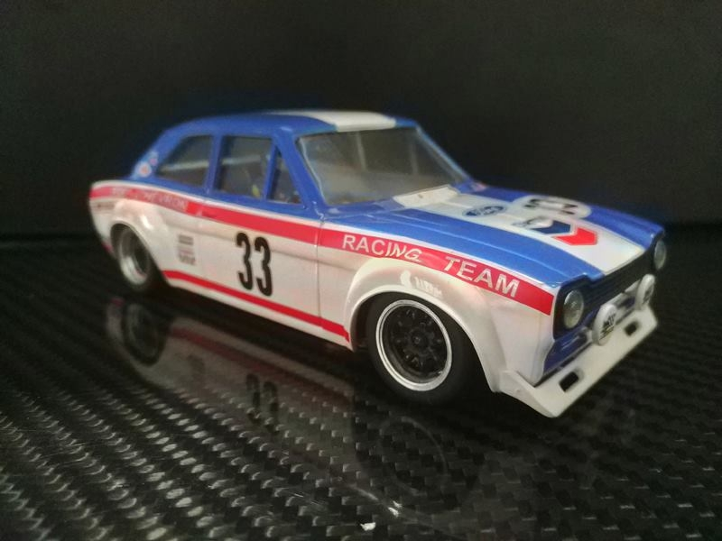 TTS 019 Ford Escort Mk1 Team Chevron 24h of Spa Francorchamps #33