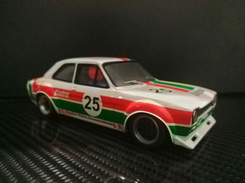 TTS 020 Ford Escort Mk1 Team ZakspeedCastrol #25