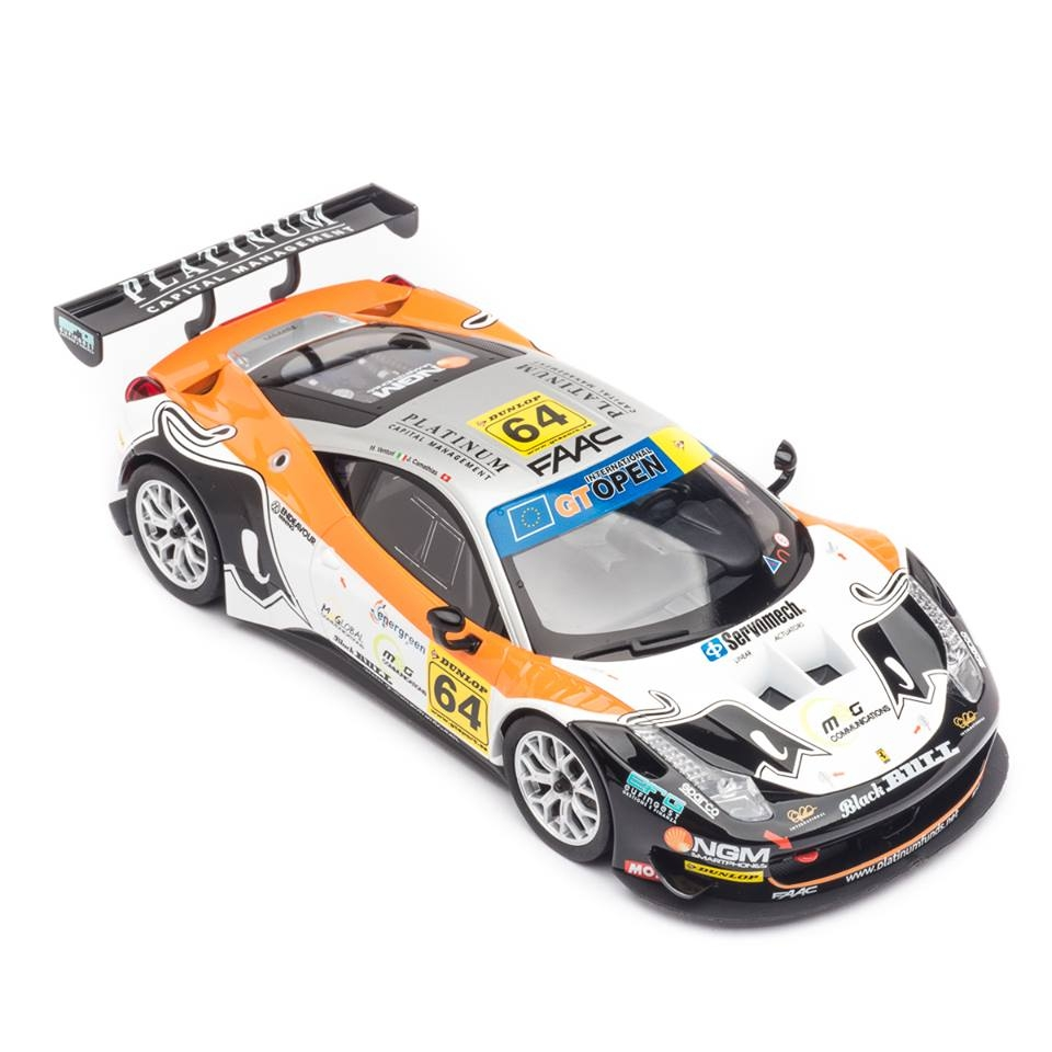 Carrera: Ferrari 458 Italia GT3 Black Bull Racing 1/24