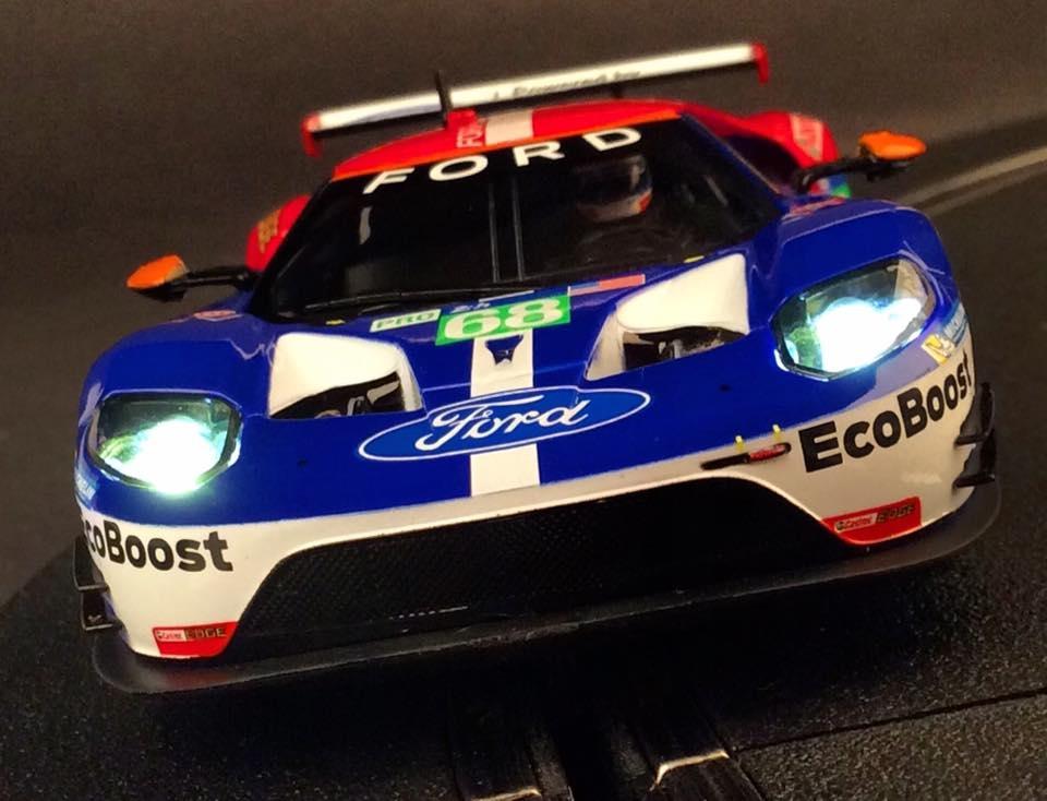 Carrera: la Ford GT Race 24h du Mans 2016 #68