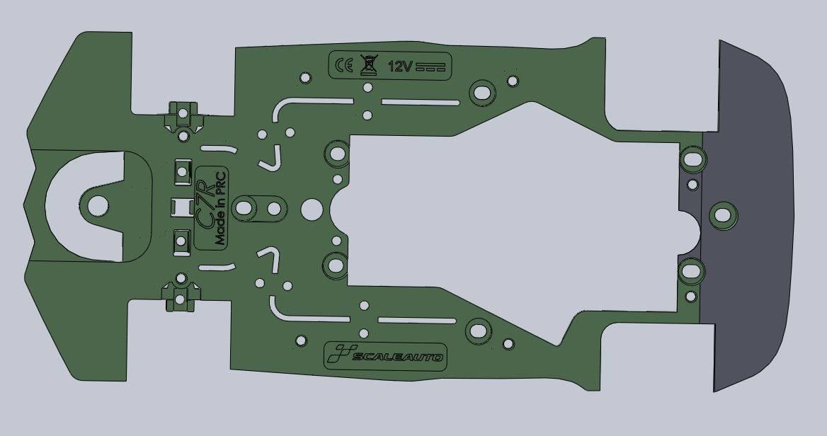 chassis flex Scaleauto