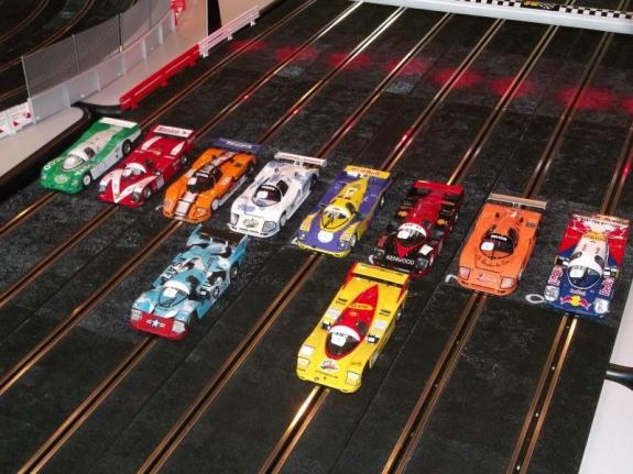 Les voitures Slot It des 24H de Cognin