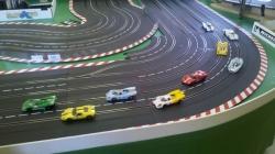 Les voitures au départ des 6 heures NSR Classic