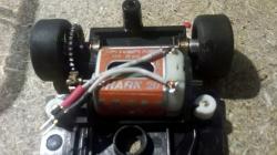 Pré montage de la puce sur le moteur