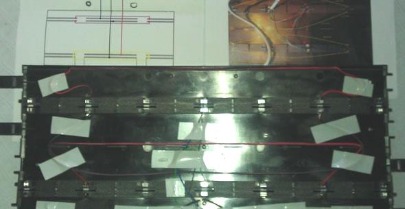 Rail coupure vue de dessous