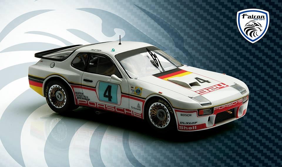 Falcon Slot Cars: la Porsche 924 #4 24h du Mans 1980