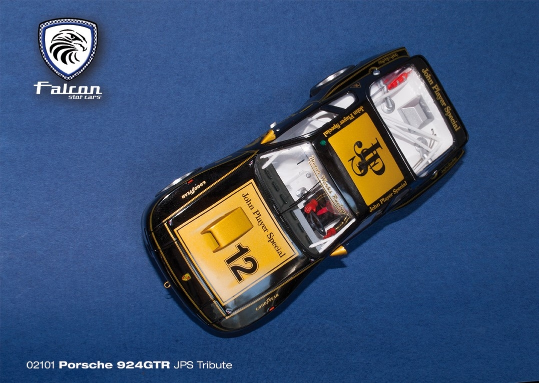 Falcon Slot Cars: la Porsche 924 GTR livrée JPS est disponible