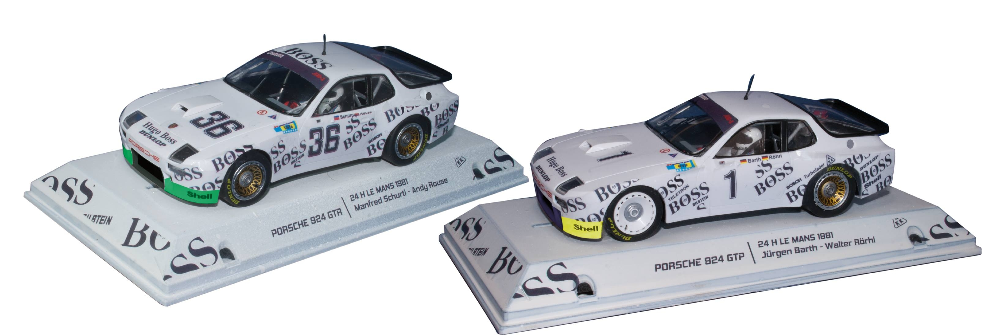 Falcon Slot: le coffret Pack Team Porsche 924 le Mans 1981