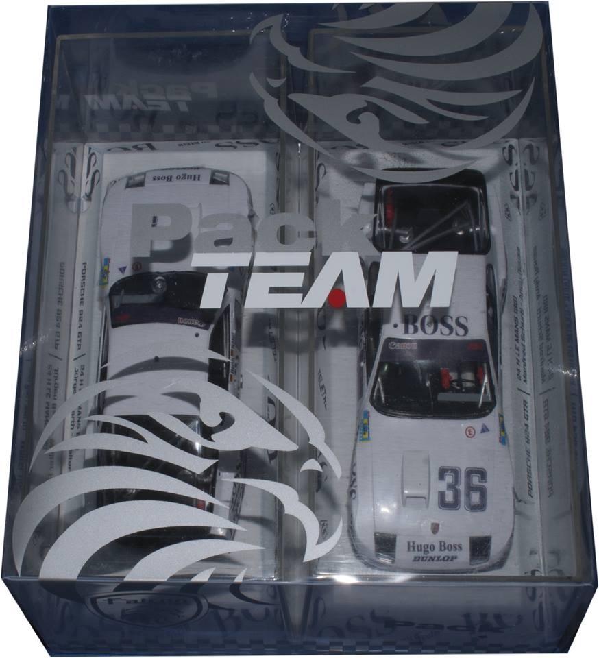 Falcon Slot: le coffret Pack Team Porsche 924 le Mans 1981