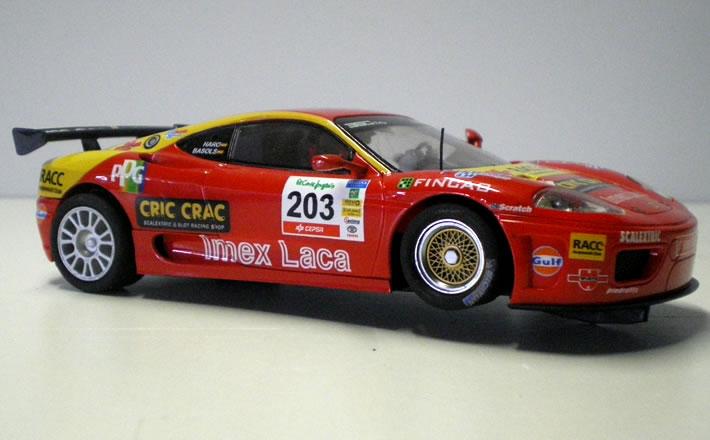 Ferrari 360 - SCX flanc