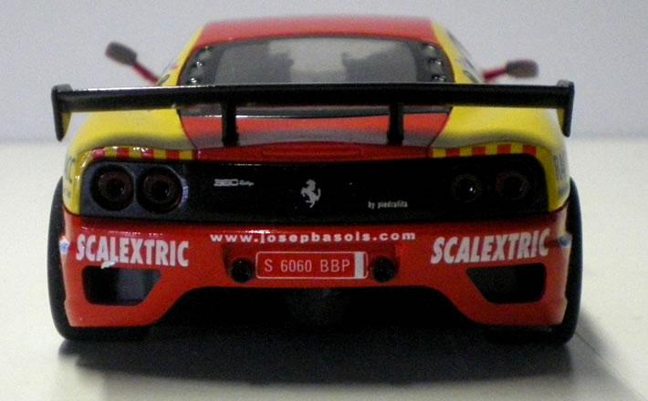 Ferrari 360 - SCX arrière