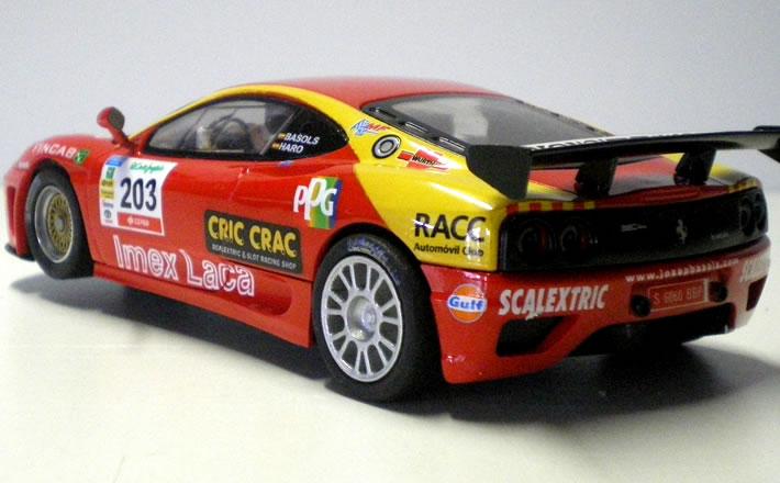 Ferrari 360 - SCX flanc 1