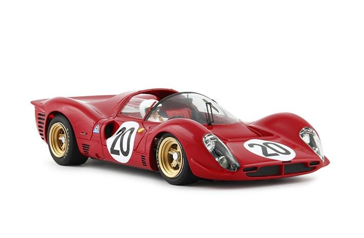 RCR68 - 330P4 araignée - # 20 Le Mans 1967 24h - C.Amon / N. Vaccarella