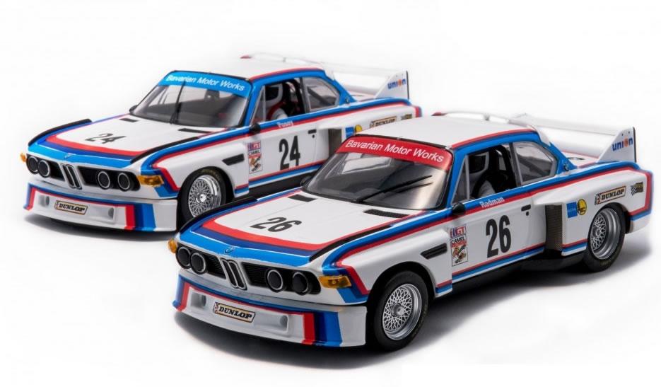 Fly Slot: les deux BMW 3.5 CSL - IMSA 1975