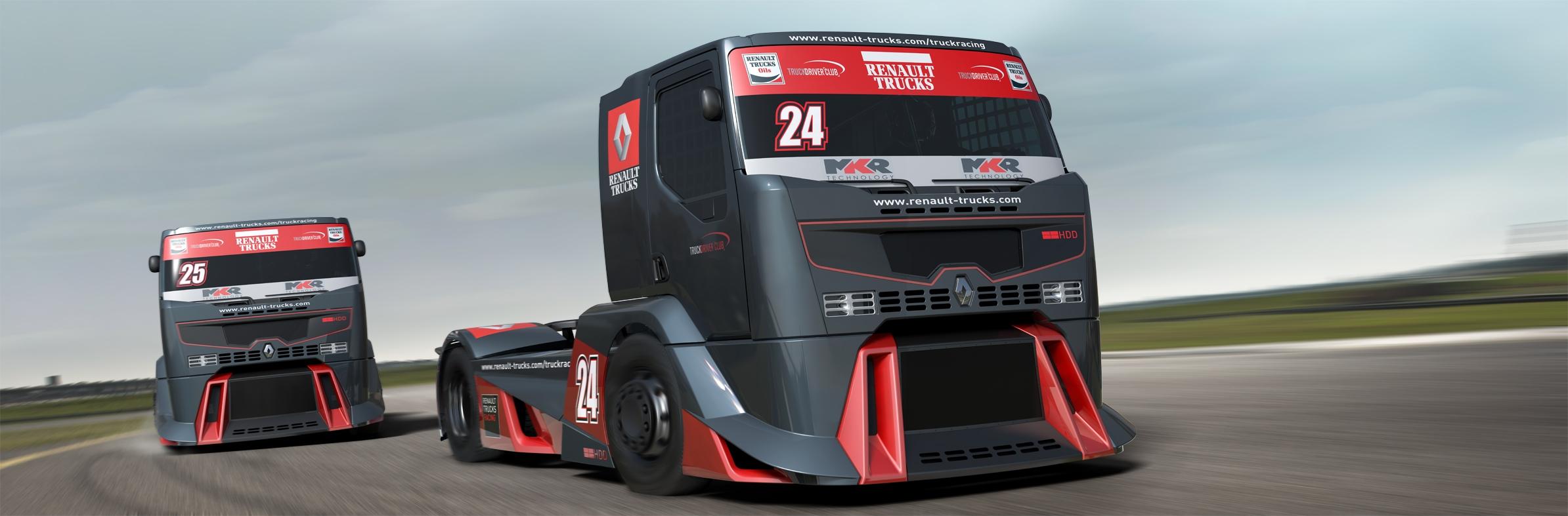 FlySlot: Le Renault Racing Truck pour le slot est annoncé