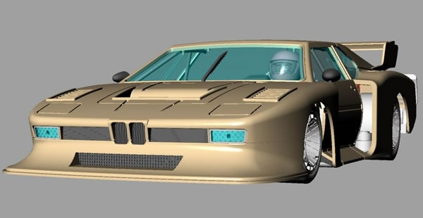 Sideways - BMW M1 Groupe 5