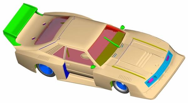 Sideways - Ford Mustang GTP