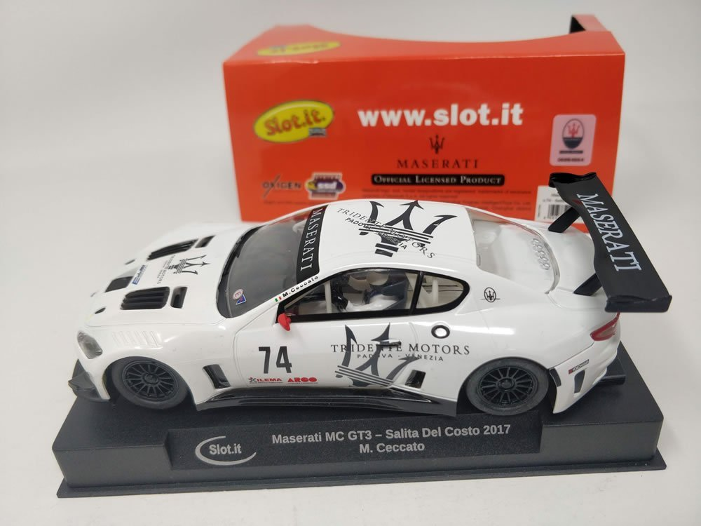 SLOT.IT CA43A MASERATI MC GT3 N:74 SALITA DEL COSTO 2017
