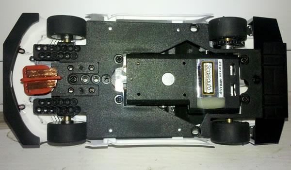 Honda HSV 010 Scaleauto chassis