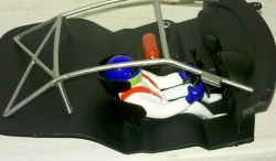 Honda HSV 010 Scaleauto cockpit