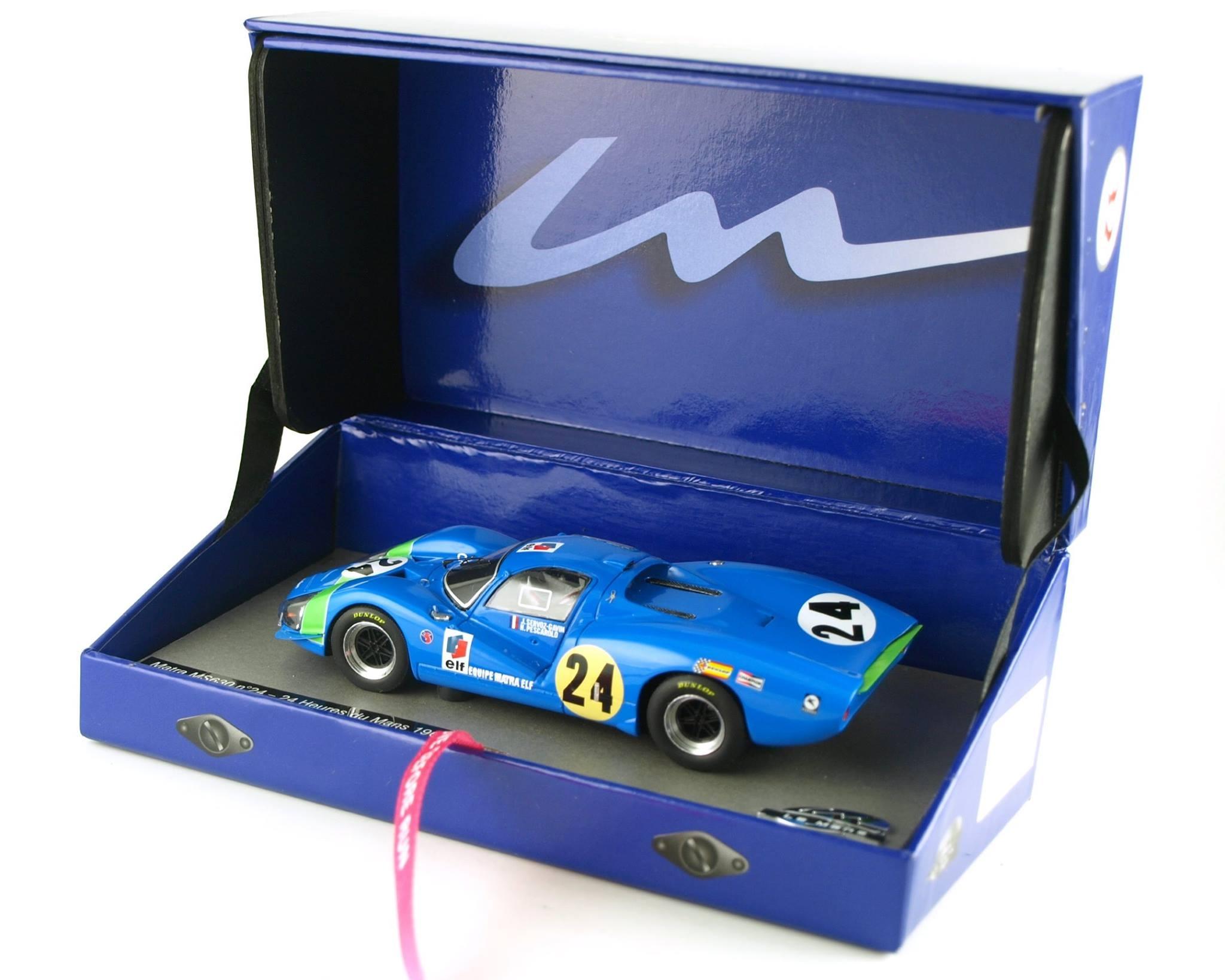 Matra MS630 n°24 - 24 Heures du Mans 1968 Echelle 1/32 ref. 132003EVO/24M