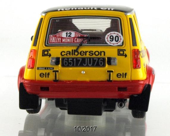 Le Mans miniatures: la Renault 5 Alpine Gr.2 Elf Calberson