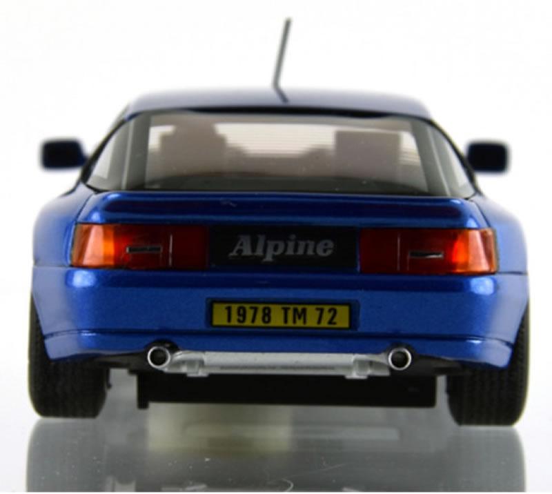 ALPINE A610 BLEU MÉTAL - LEMANS -1