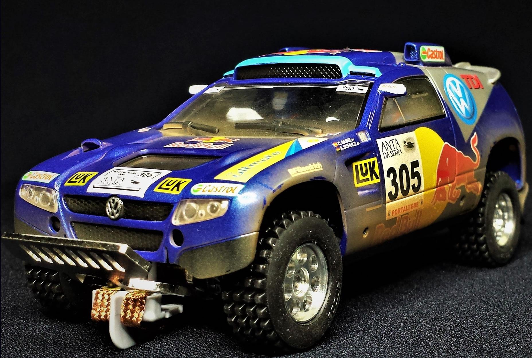 M803 - MITSUBISHI LANCER RACING – #304 – DAKAR 2009 – NANI ROMA