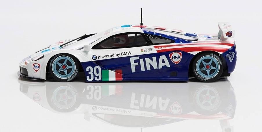 Mr Slotcar - McLaren F1 GTR Fina #38