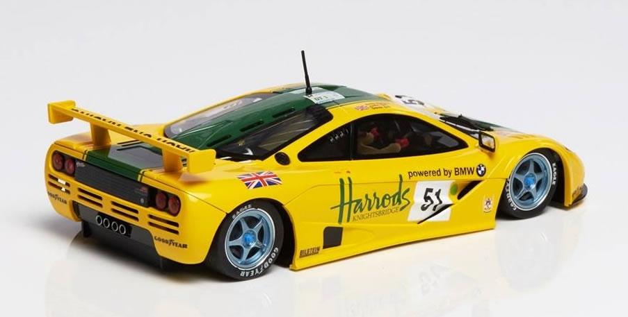 Mr Slotcar - McLaren F1 GTR Harrods #51