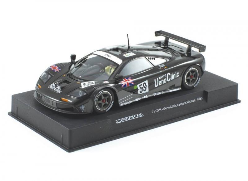 Mr Slotcar: McLaren F1 GTR Ueno Clinic #59 LeMans 1995