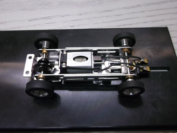 MRRC - Chassis - cage courte dessus
