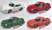 Porsche 911 MRRC (blanc, rouge, verte, orange)