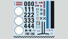 Planche décalques Porsche 911 MRRC