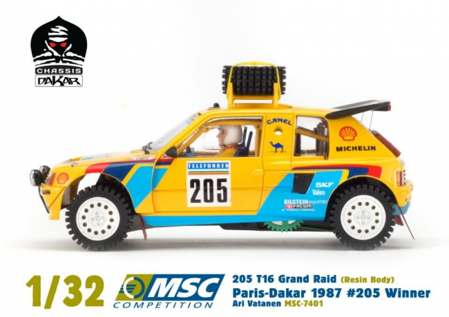 Peugeot 205 T16 Grand-Raid MSC Competition
