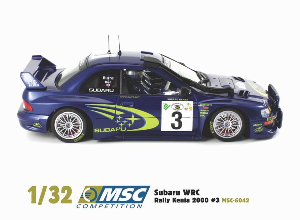 MSC-6042 Subaru Impreza WRC Safari