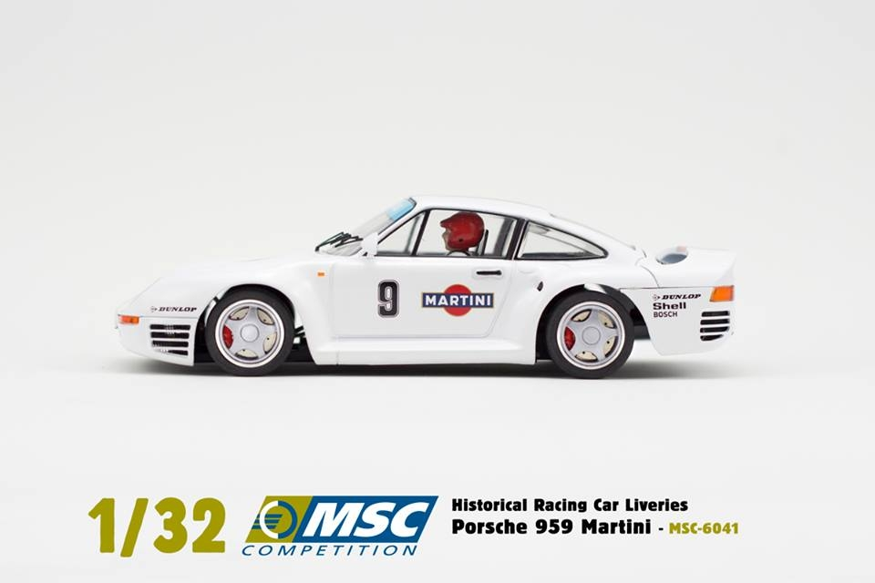 MSC-6041 Porsche 959 Martini