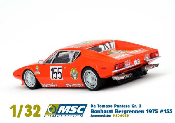 MSC Competition: De Tomaso Pantera GR3 Jägermeister